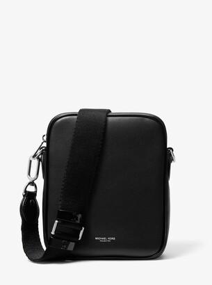 Michael Kors Nikki Calf Leather Crossbody Bag