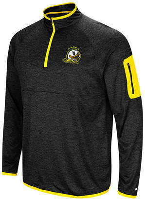 Colosseum Men's Oregon Ducks Amnesia Quarter-Zip Pullover