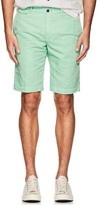 Pt01 Men's Linen-Cotton Bermuda Shorts