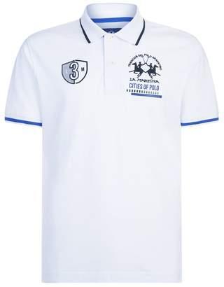 La Martina Logo Polo Shirt