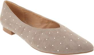 Esprit Studded Pointed Toe Flat - Danika
