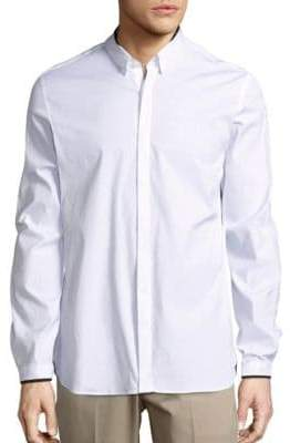 The Kooples Cotton-Blend Solid Shirt