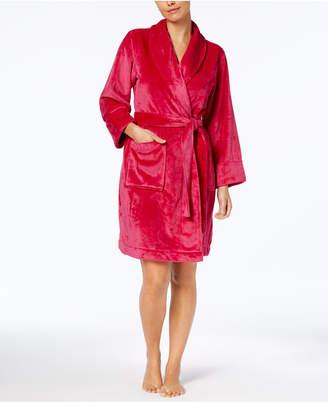 02ccff45cd Charter Club Short Plush Robe