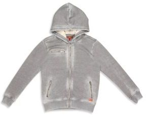 Little Boy's & Boy's Faded Textured Hoodie $60 thestylecure.com