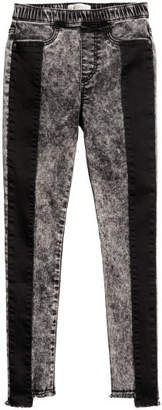 H&M Treggings with Details - Black