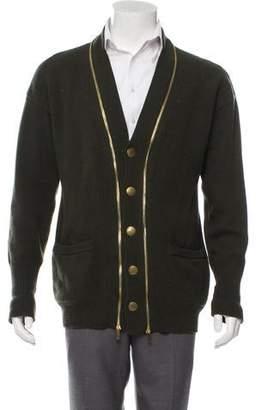 Alexander McQueen Wool Blend Cardigan