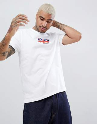 Asos DESIGN relaxed t-shirt with UK flag print