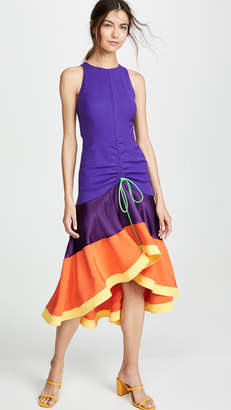 Prabal Gurung Jhanta Gathered Front Dress