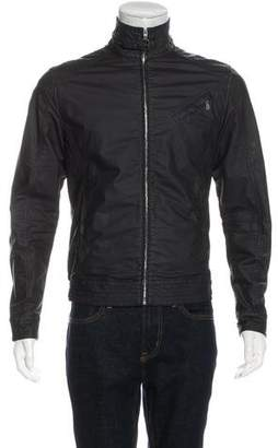 Belstaff Coated Zip Jacket