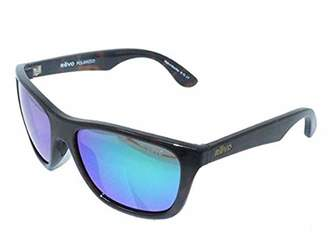 Revo Unisex RE 1001 Otis Square Polarized UV Protection Sunglasses Wayfarer