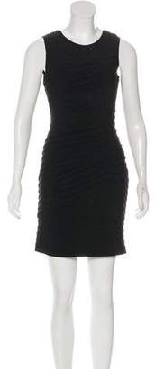 Calvin Klein Pleated Mini Dress