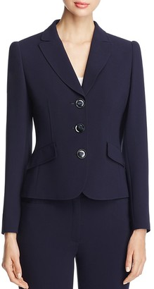 BASLER Pleated Back Blazer $495 thestylecure.com