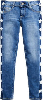 GUESS Big Girls Star-Wash Skinny Jeans