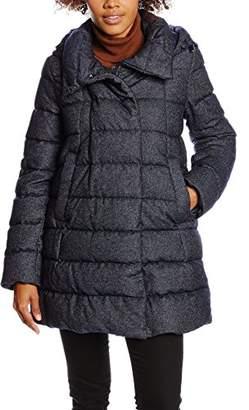Geox Women's W6425vt2287 Down Long Sleeve Jacket,6 (Manufacturer Size: 34)