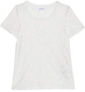 Claudie Pierlot Broderie Anglaise Cotton T-Shirt