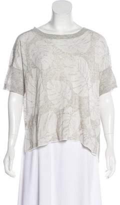 White + Warren Short Sleeve Knit Top w/ Tags