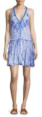 Poupette St Barth Nola Halter Mini Dress