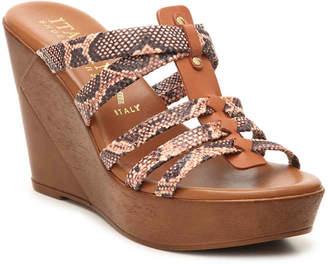 Italian Shoemakers Nash Wedge Sandal - Women's