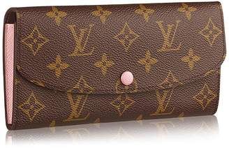 Louis Vuitton Monogram Canvas Monogram Canvas Emilie Wallet Article: M61289