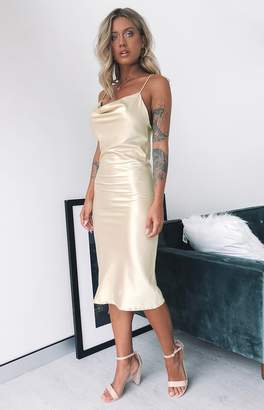 Calypso Bb Exclusive Midi Dress Champagne
