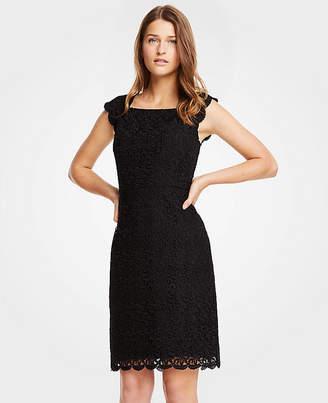 Ann Taylor Petite Lace Sheath Dress