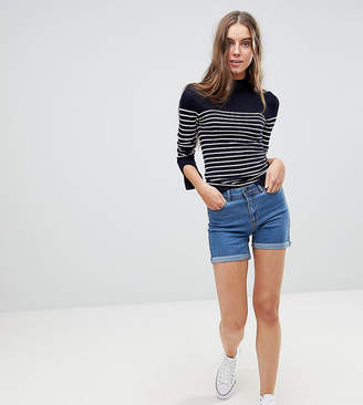 Vero Moda Tall Roll Hem Shorts