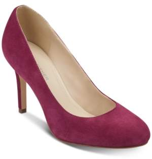 Marc Fisher Chris Round-Toe Pumps Women's Shoes