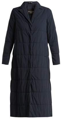 Max Mara Ape Quilted Coat - Womens - Navy