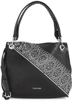 Calvin Klein Bandanna Printed Hobo Bag