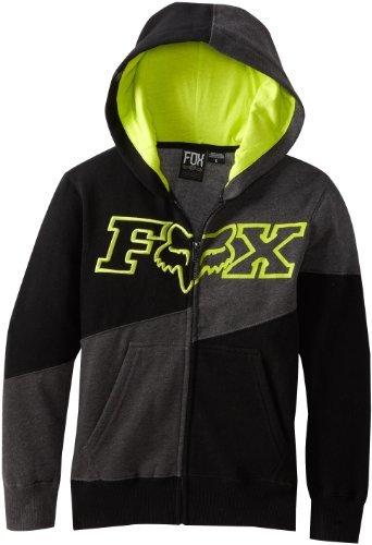 Fox Big Boys' Defeat Zip Front Fleece