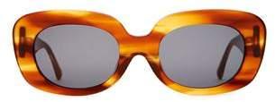 Crap Eyewear Velvet Mirror Havana Tortoise Sunglasses