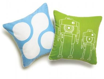 Boodalee Space Throw Pillow