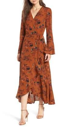 Leith Bell Sleeve Wrap Midi Dress (Regular & Plus Size)