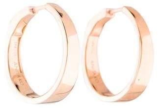 Anita Ko 18K Meryl Hoop Earrings