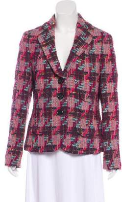Rena Lange Virgin Wool Tweed Blazer