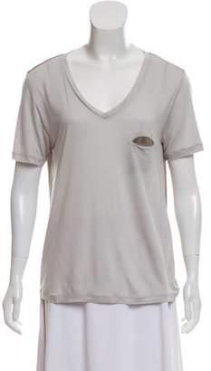 J Brand Short Sleeve Casual Top