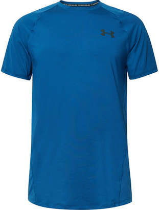 Under Armour Raid Mesh-Panelled Heatgear T-Shirt