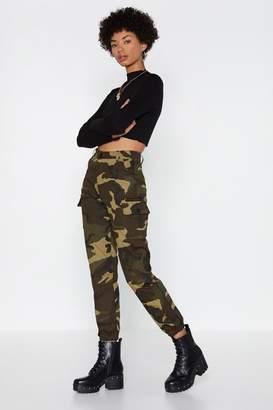 Nasty Gal Action Woman Camo Pants