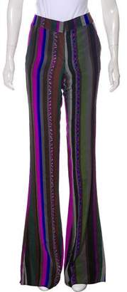 Emilio Pucci Silk Mid-Rise Pants w/ Tags