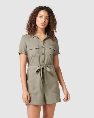 Forever New Darcy Utility Playsuit