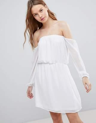 Glamorous Bardot Frill Dress