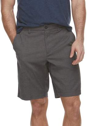 Marc Anthony Men's Textured Slim-Fit Yarn-Dyed Shorts