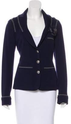Chanel Camellia Knit Blazer