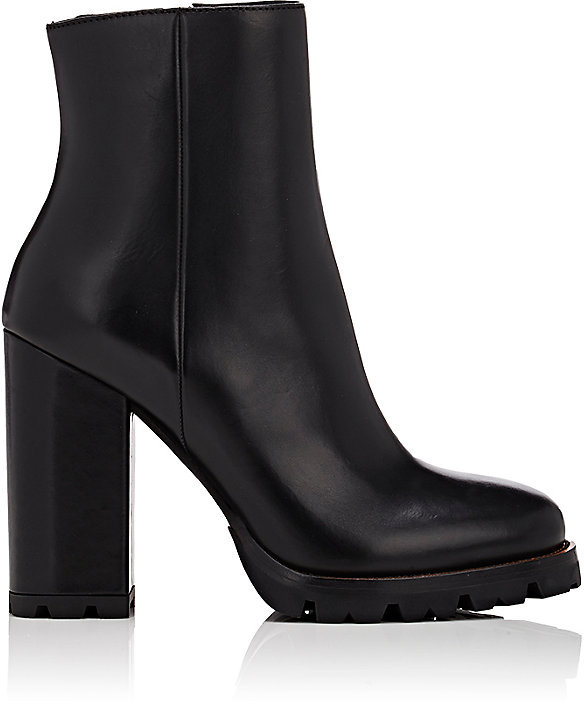 Prada Women's Rounded-Toe Ankle Boots