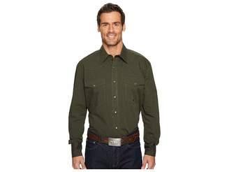 Roper 1272 Black Fill Long Sleeve Top Men's Long Sleeve Pullover