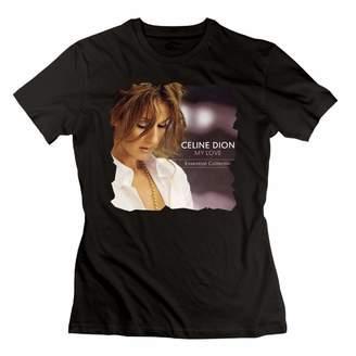 Celine Dion John H. Alston JohnHA Women's My Love Classic T-Shirts M