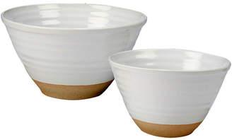 Certified International Artisan 2-Pc. Mixing Bowl Set