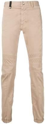 Just Cavalli panelled chinos