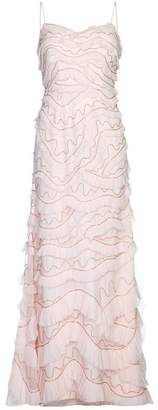 Aidan Mattox All Over Embroidered Gown