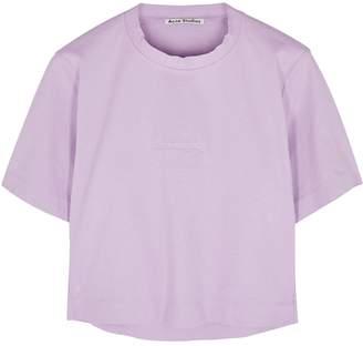 Acne Studios Lilac Cotton T-shirt